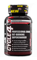 Cycle 4 Fat Burner 60ct 4D Nutrition