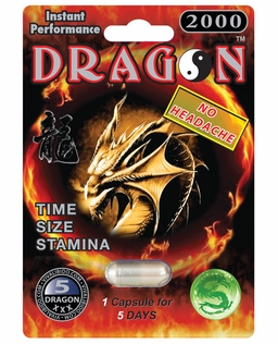 Dragon 2000 Male Enhancement 5ct