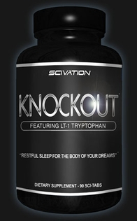 Knockout Sleep Formula by Scivation 90ct