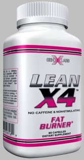 Lean X4 Stimulant Free Fat Burner 60ct