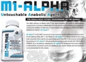 M1-Alpha 60ct For Muscular Mass and Density