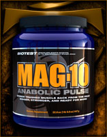 Mag-10  Anabolic Pulse 980g Biotest