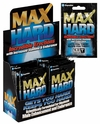 Max Hard 24ct Display Pack Male Enhancement