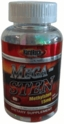 Mega-Sten 60ct Hardrock Supplements