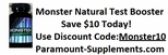 Monster Test Booster Coupon