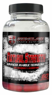 Natural Strength Supplement 60ct Xcel Sports