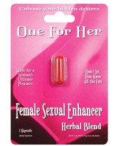 One for her female stimulant ,1ct
