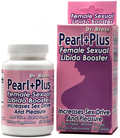 Pearl Plus Female Libido Booster 60ct