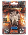 Rhino 7 Platinum 3000 1ct Male Enhancer