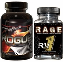 Rogue Anabolic with RAGE RV1 PCT Stack