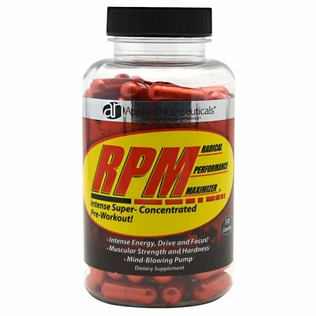 RPM 110ct Preworkout Test Booster
