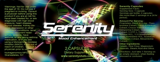Serenity Mood Enhancement Pills,2ct