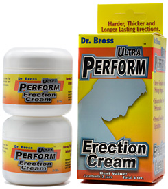 Ultra Perform Erection Cream 2oz 2ct