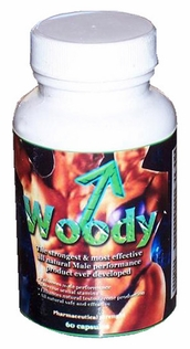 Woody Natural Male Enhancement Pills,60ct