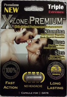 Xzone Platinum Male Enhancement Pills 25ct