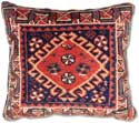 Antique Turkish Oriental Rug Pillow