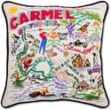 Carmel By The Sea Handmade Pillow
