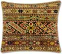 Caucasian Oriental Rug Throw Pillow