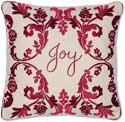 Christmas Joy Holiday Pillow