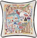 Decorative Minneapolis St Paul Pillow