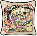 Decorative Transylvania Fall Halloween Pillow