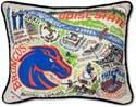 Embroidered Boise State Broncos Collegiate Pillow