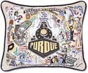 Giant Handmade Boilermakers Purdue University Embroidered Pillow