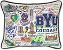 Giant Handmade Byu Brigham Young University Pillow