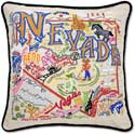 Giant Handmade Embroidered Nevada Pillow