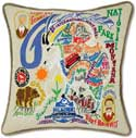 Glacier National Park Montana Pillow