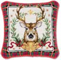 Hunting Christmas Pillow