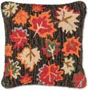 Maple Leaves Autumn Pillow