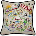 Mediterranean Country Italy Throw Pillow