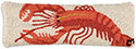 Nautical Maine Lobster Decorative Pillow