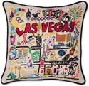 Nevada Las Vegas Geography Pillow
