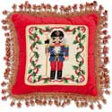 Nut Cracker Decorative Pillow