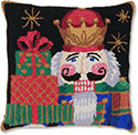 Nutcracker Gifts Holiday Pillow
