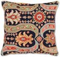 Persian Design Needlepoint Pillow
