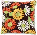 Spring Autumn Flowers Pillow