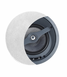 "ACE670  6.5"" Angled Home Theater Trimless Ceiling Speaker with Kevlar Woofer Single"