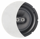"ACE840TT 8"" Trimless Dual Tweeter Stereo Ceiling Speaker"