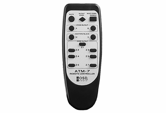 ATM7 Zone Automatic Speaker Selector w/ Remote Control