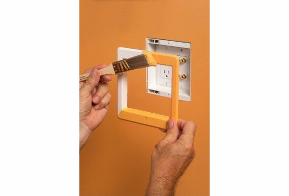 DVFR2W Recessed 2 Gang Wall Box