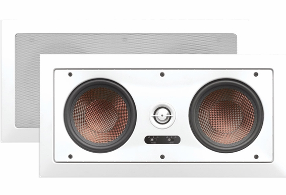In Wall Center Channel Trimless Speaker IW550 LCR