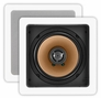 In-Wall Speaker Pair OSD-CW-640SQ Square Design