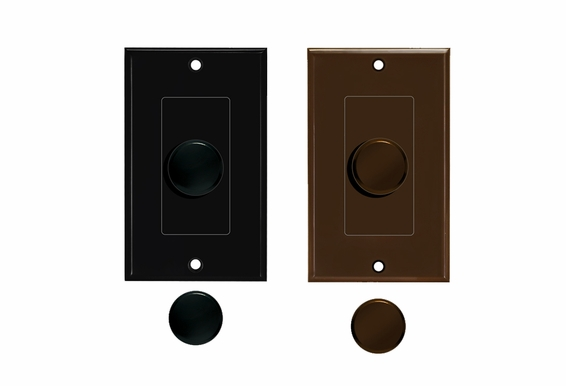 Knob Volume Control Color Change Kit (Black or Brown)