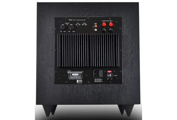 """PS12 12"""" High Powered Home Theater Subwoofer"""