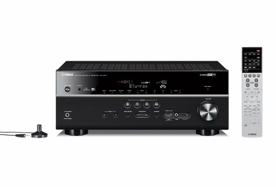 Yamaha RX-V677 7.2-channel Wi-Fi Network home theater receiver with Apple AirPlay®