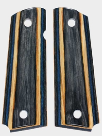 Charcoal, Blue and Oak Dymondwood