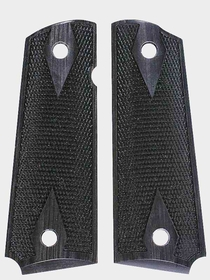 Charcoal Silvertone Dymondwood - Double Diamond Checkered